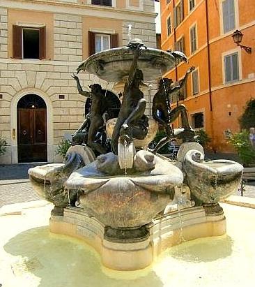 מזרקת הצבים ברומא