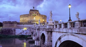 Ponte Sant Angelo Or The Quot Bridge Of Angels Quot Rome On